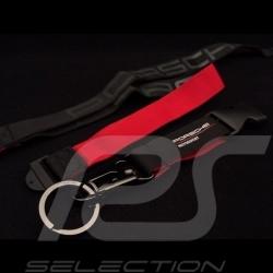 Porsche Schlüsselring Halsband rot und schwarz Motorsport Porsche Design WAP0500030LFMS