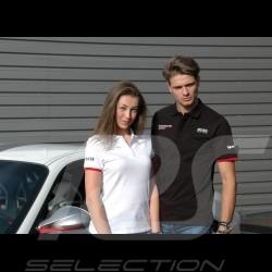 Porsche Motorsport Hugo Boss Polo shirt white Porsche Design WAP431LMS - women