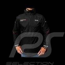 Veste Hugo Boss Porsche Motorsport Coupe-vent noir Porsche Design WAP438LMS jacket Jacke windbreaker mixte