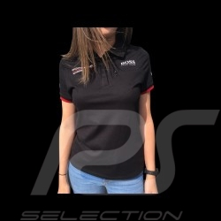 Porsche Motorsport Hugo Boss Polo-shirt schwarz Porsche Design WAP434L0MS - Damen