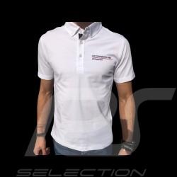 Polo Porsche Motorsport Porsche Design WAP801LFMS blanc white weiß homme