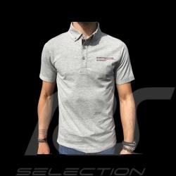 Porsche Motorsport 3 Polo shirt grey Porsche Design WAP803LFMS - men