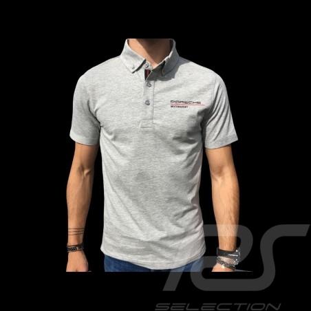Porsche Motorsport Polo shirt grey WAP803LFMS - men
