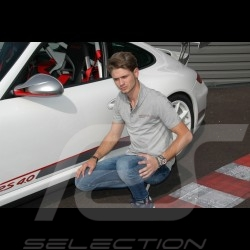 Polo Porsche Motorsport gris grey grau WAP803LFMS - homme