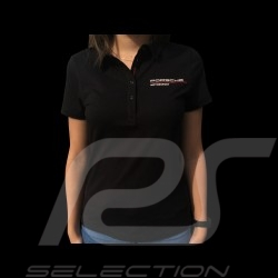 Porsche Motorsport 3 Polo shirt black Porsche Design WAP806LFMS - women