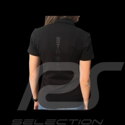 Porsche Motorsport Polo shirt black Porsche Design WAP806LFMS - women