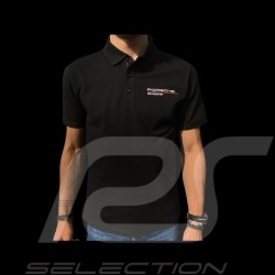 Polo Porsche Motorsport noir black schwarz Porsche WAP802LFMS - homme