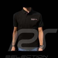 Polo Porsche Motorsport noir black schwarz Porsche Design WAP802LFMS - homme
