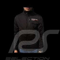 Veste Jacket Jacke Porsche Motorsport Collection Softshell noir Porsche WAP813LFMS - homme
