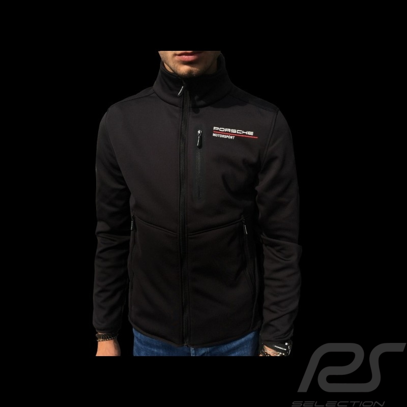 Porsche Softshell jacket Motorsport Collection Black Porsche WAP813LFMS - men