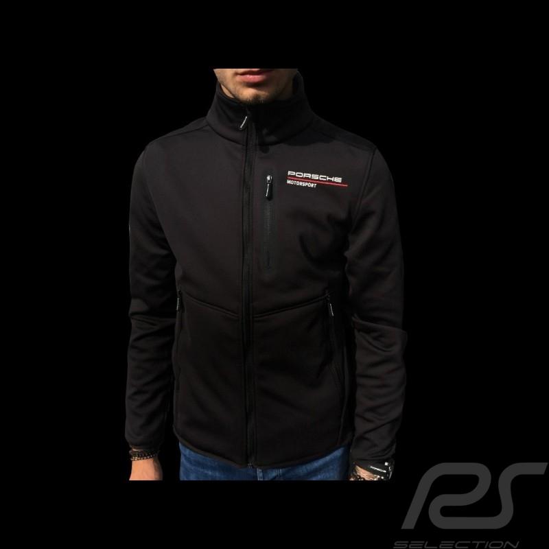 Porsche Softshell jacket Motorsport Collection Black Porsche Design WAP813LFMS - men