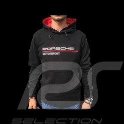 Porsche Hoodie Motorsport Collection black / red Porsche Design WAP815LFMS - men