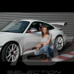 Porsche Motorsport T-shirt grey Porsche Design WAP811LFMS - women