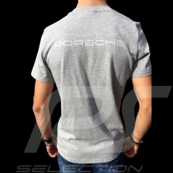 Porsche Motorsport T-shirt grey Porsche Design WAP809LFMS - men