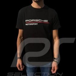 Porsche Motorsport T-shirt schwarz Porsche Design WAP808LFMS - Herren