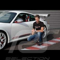 Porsche Motorsport T-shirt black Porsche Design WAP808LFMS - men