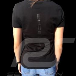 Porsche Motorsport T-shirt black Porsche Design WAP812LFMS - women