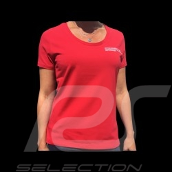 Porsche Motorsport T-shirt red Porsche WAP810LFMS - women