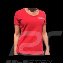 T-shirt Porsche Motorsport rouge red rot Porsche Design WAP810LFMS - femme