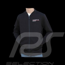 Porsche Jacke Motorsport Collection Sweatshirt schwarz / rot Porsche Design WAP814LFMS - Herren
