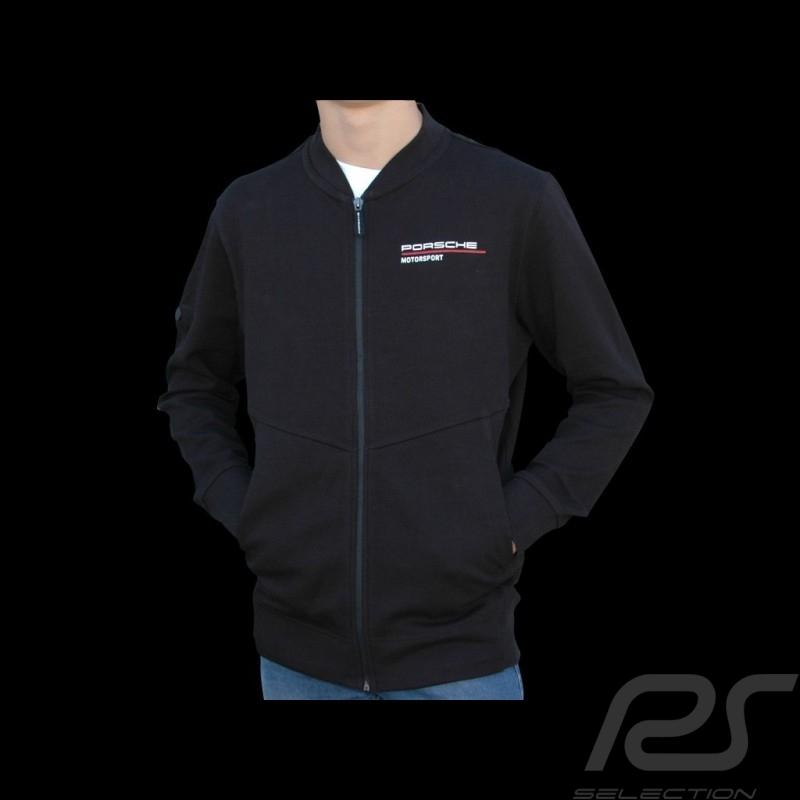 Porsche jacket Motorsport Collection Sweatshirt black / red Porsche Design WAP814LFMS - men