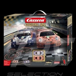 Circuit Carrera Digital Porsche 911 RSR 24h Le Mans 2018 Double Victory 1/24 Carrera 20023628