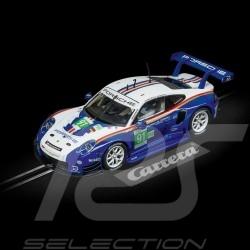 Slot car Porsche 911 RSR 24h Le Mans 2018 n° 91 Rothmans design 1/32 Carrera 20030891