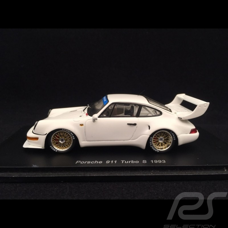 Porshe 911 type 964 Turbo S 1993 blanche 1/43 Spark S1930