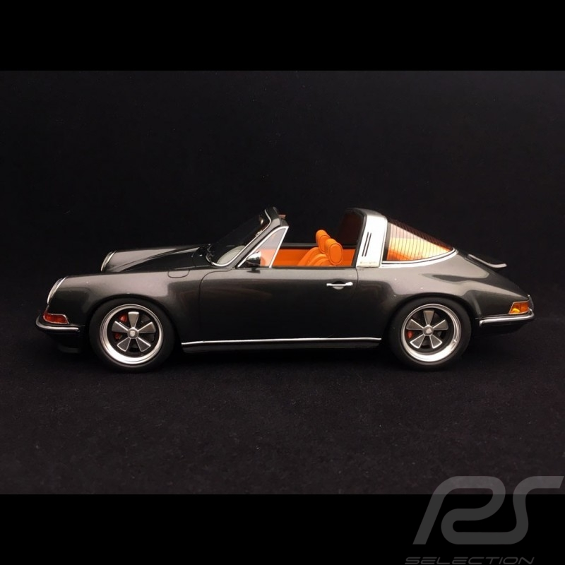 Porsche 911 type 964 Singer Targa 2015 metallic grey 1/18 Cult Models CML106-1