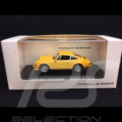 Porsche 911 S 2.4 yellow 1/43 High Speed MAP07007508