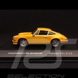 Porsche 911 S 2.4 1973 yellow 1/43 High Speed MAP07007508