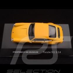 Porsche 911 S 2.4 yellow 1/43 High Speed MAP07007508