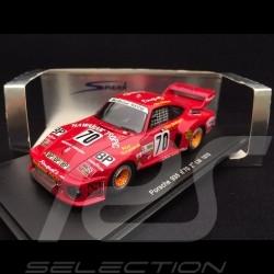 Porsche 935 n° 70 2nd Le Mans 1979 1/43 Spark S2015