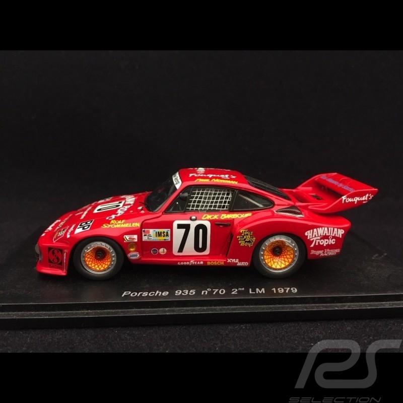 Porsche 935 n° 70 2ème Le Mans 1979 1/43 Spark S2015