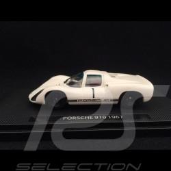 Porsche 910 n° 1 Presentation 1967 1/43 Ebbro 639