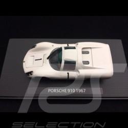 Porsche 910 n° 1 Präsentation 1967 1/43 Ebbro 639