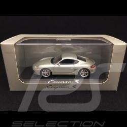 Porsche Cayman S 987 silbergrau 2005 1/43 Schuco WAP02030016