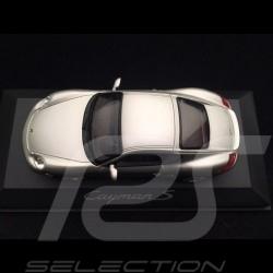 Porsche Cayman S 987 gris argent 2005 1/43 Schuco WAP02030016 silver grey silbergrau