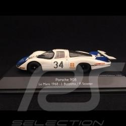 Porsche 908 Le Mans 1968 n°34 1/43 Schuco 450372000