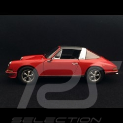 Porsche 911 2.4 S Targa 1973 1/18 Schuco 450036200 Rouge clair light red hellrot
