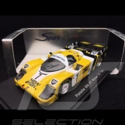 Porsche 956 n° 7 New Man Winner Le Mans 1985 1/43 Spark S0991