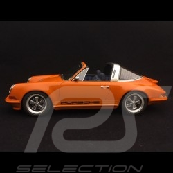 Porsche 911 typ 964 Singer Targa 2015 orange 1/18 Cult Models CML106-3