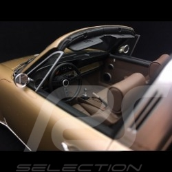 Porsche 911 type 964 Singer Targa 2015 or métallisé gold metallic 1/18 Cult Models CML106-2