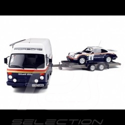 Coffret Set Porsche 911 SC RS Rallye 1000 pistes 1984 n° 4 Rothmans 1/18 Ottomobile OT331
