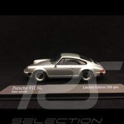 Porsche 911 SC Coupé 1979 silbergrau 1/43 Minichamps 943062093