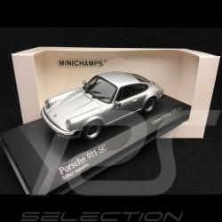 Porsche 911 SC Coupé 1979 silver grey 1/43 Minichamps 943062093