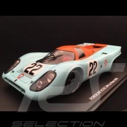 Porsche 917 K n° 22 Gulf Racing Hobbs Hailwood 24h du Mans 1970 1/18 CMR CMR129