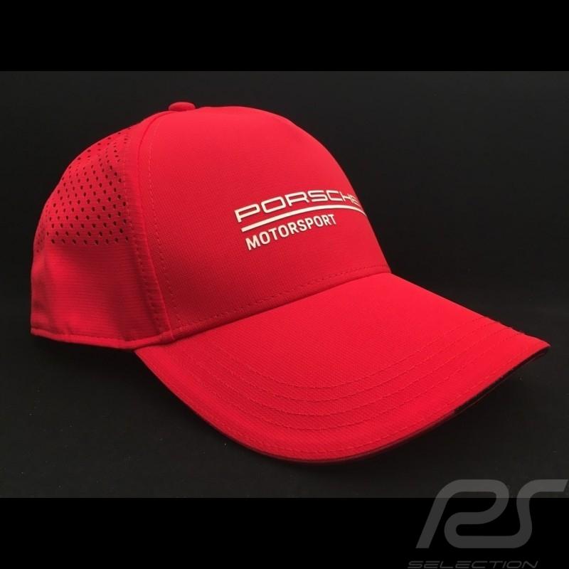 Porsche Cap Motorsport 3 Perforated red Porsche Design WAP8000020LFMS - men