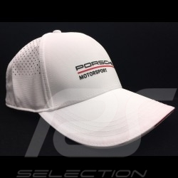 Porsche Cap Motorsport 3 Perforated white Porsche WAP8000030LFMS
