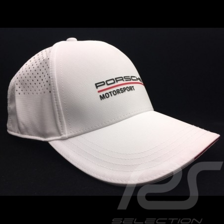 Porsche Cap Motorsport 3 Perforierte weiß Porsche WAP8000030LFMS